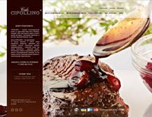 Сайт ресторана Cipollino