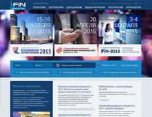 Сайт для IFIN Media