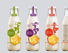 Концепт упаковки молочных коктейлей
