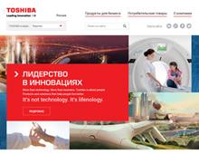 Сайт для технологической компании